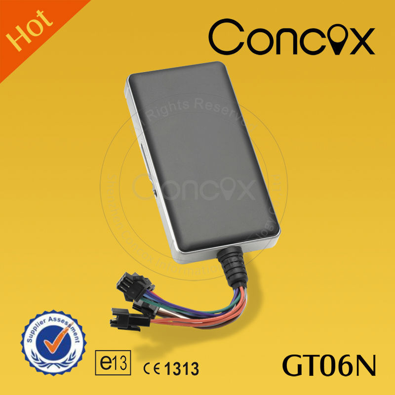 Multifucntion GPS Car Tracker support geo-fence/speed/alarm/fuel mileage with long life time back up battery Concox GT06N