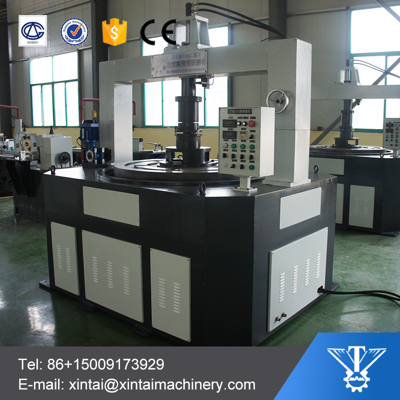 automatic vertical flat lapping machine