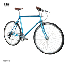 Wholesale 700C classical bike competitive price good quality blue comfortable city bicycle