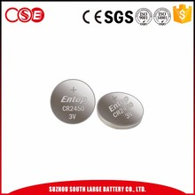Hot Selling cr2045 button cell 3v lithium battery