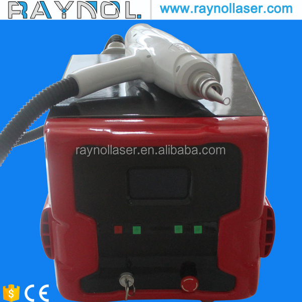 q switch nd yag laser tattoo removal system / laser machine remove tattoo / tattoo removal