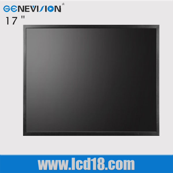 17 inch lcd tft touch screen flat time switch panel with module vga (MJHD-170)