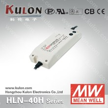 MEANWELL HLN-40H-30A 40W 30V waterproof ip67 dimmable LED Driver