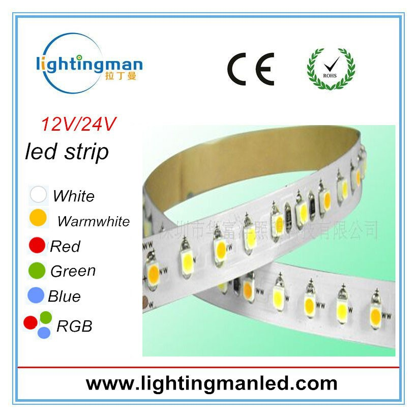 3528 house decoration hot sales led strip 120 led 9v battery powered led strip light