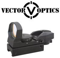 Vector Optics Imp 1x23x34 Multi Reticle Compact Reflexible Red Dot Sight Scope
