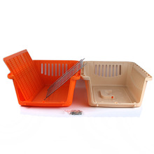 Taizhou manufacture plastic pet cat carrier kennel cat dog house