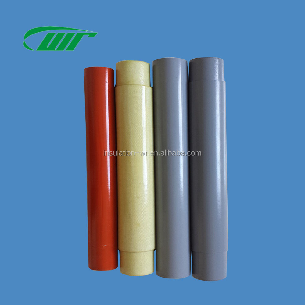 Drop Type Fuse Tube Epoxy Glass Fiber Winding Pipe Arcing Vulcanized Paper Tube