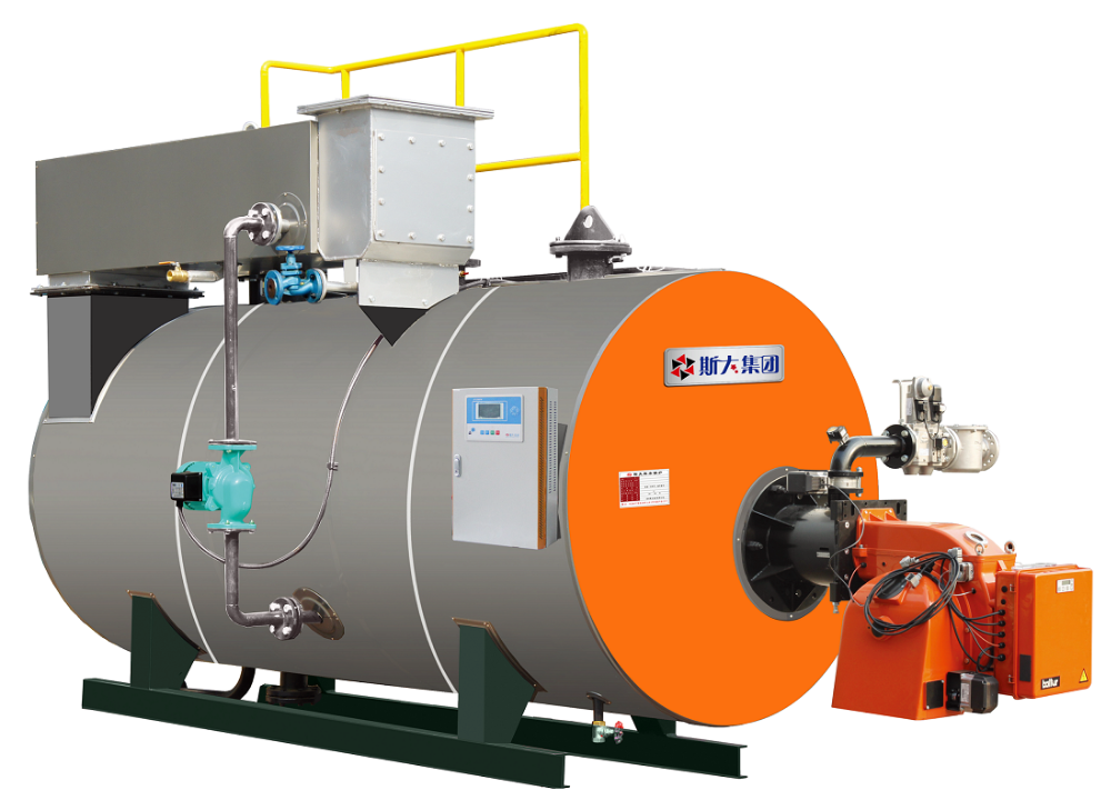 Oil Water Boiler ~ Kw gas oil fired horizontal condensing atmospheirc