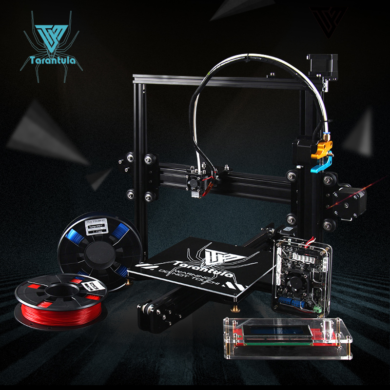 Latest 3D Printer TEVO Tarantula 2017 Upgrade Version Large Size 3D Printer Best Control Software