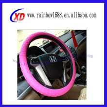 steering wheel silicone cover/PU PVC steering wheel cover/leather steering wheel silicone cover