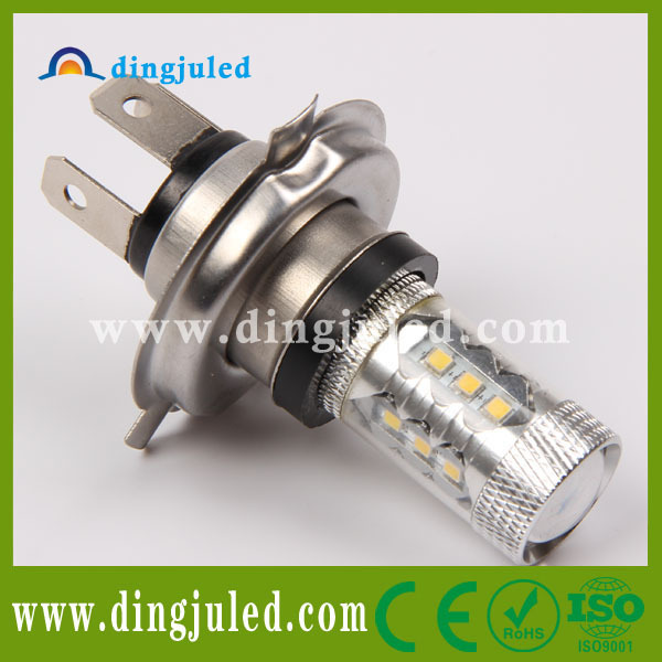 Constant current samsung 2323smd auto led bulb h4