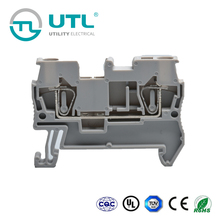 UTL New Products On China Market Terminal Blocks JUT3-2.5 Brass Copper Battery Terminals