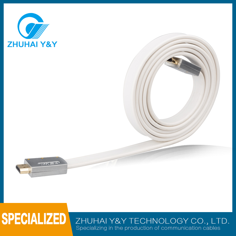 High quality 1.4/1.3/2.0 HDMI Cable support 3D,1080P,4K*2K with Ethernet