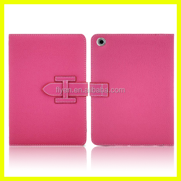 2014 Newest Fashion Great High Quality Mobile Phone folio leather Case For Ipad air for ipad 2/3/4