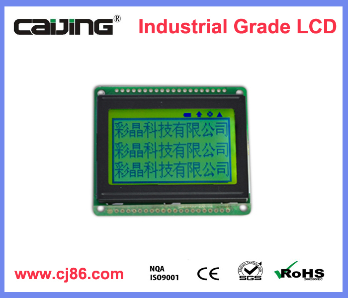 Best price 3V parallel sunlight readable 128x64 mono lcd module
