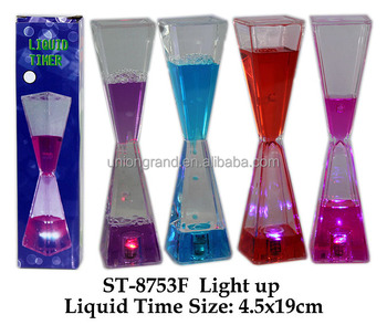 Light up liquid Time