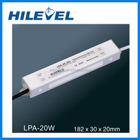 LPA-20W Constant Current Waterproof LED Power Driver