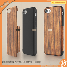Hot Mobile Phone Accessories Wood Back Cover Case For Iphone 7