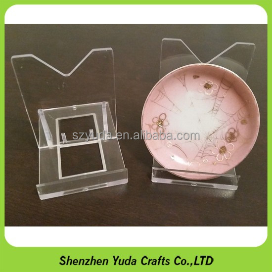 Direct factory wholesale plastic plate dish display stand