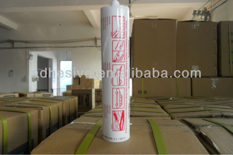 Sanitary Removing Acid And Aluminum Silicone Glass Sealant