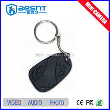 Portable wireless 808 car keys micro hidden camera 32gd SD card long time recording BS-736