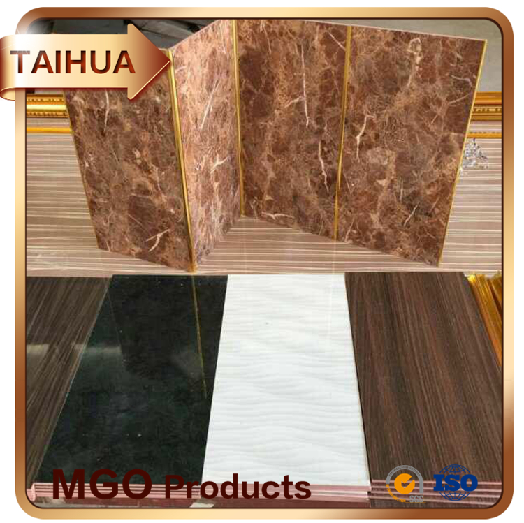 Fireproof Decoration Melamine Mgo Board Decorative Insulation Mgo Wall Board