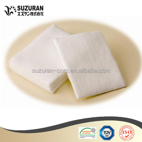 Cosmetics cotton Square Cotton Pads facial cotton pads make-up remover pad eye pads (125gsm,5cmX7cm,0.44g/pc)