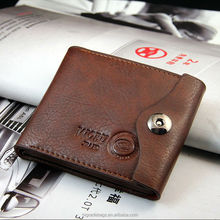 free shipping Bifold Genuine leather wallet, men's wallet