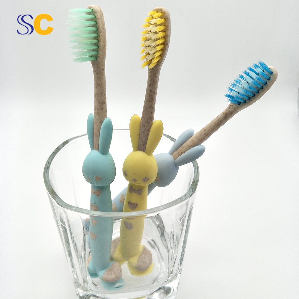 Wholesale Professional Natural Eco friendly Soft Charcoal Kid Toothbrush