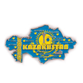 Custom fridge magnets tourist souvenir magnet map kazakhstan souvenir