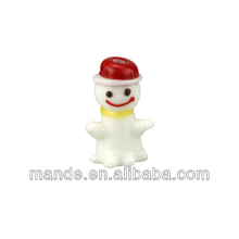 alibaba wholesale Snowman animal lampwork glass beads for DIY glass beads jewelry