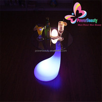 IP54 outdoor Unlimited Color Changing LED Cocktail Table,led illuminated cocktail table,led glowing cocktail table