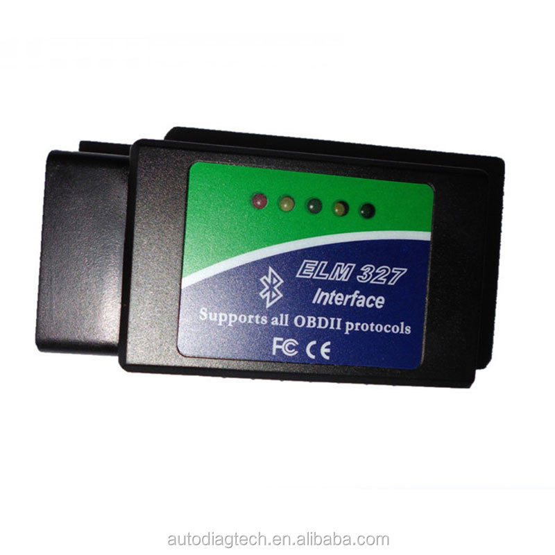 Wholesale Price elm 327 Bluetooth OBDII V1.5 CAN-BUS Diagnostic Interface Scanner,Bluetooth ELM 327 OBD 2 Car