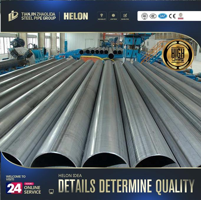 OEM pipe factory 400mm diameter steel pipe with black color for wholesales