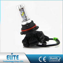 Zhong shan factory outlet X3 car led headlight for 9007
