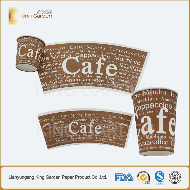 Tailored paper cup fan for cup making machine use