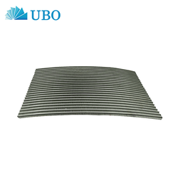 Wedge Wire Curved Sieve Bend Screen 120 degree DSM Screen