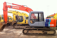 Used Hitachi digger EX120, Secondhand hitachi excavator EX120-1 EX120-2 EX120-3 for sale!
