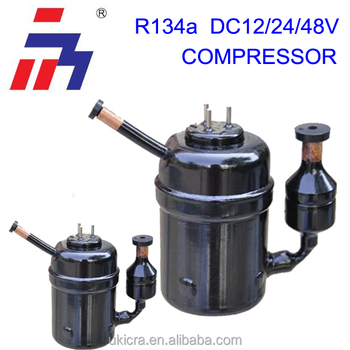 48 V DC Freezer compressor mini piston compressor R134A