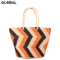 Wholesale Eco-friendly Straw Tote Beach Bags