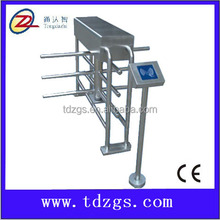 security electronic stainless steel gates design,half height turnstile