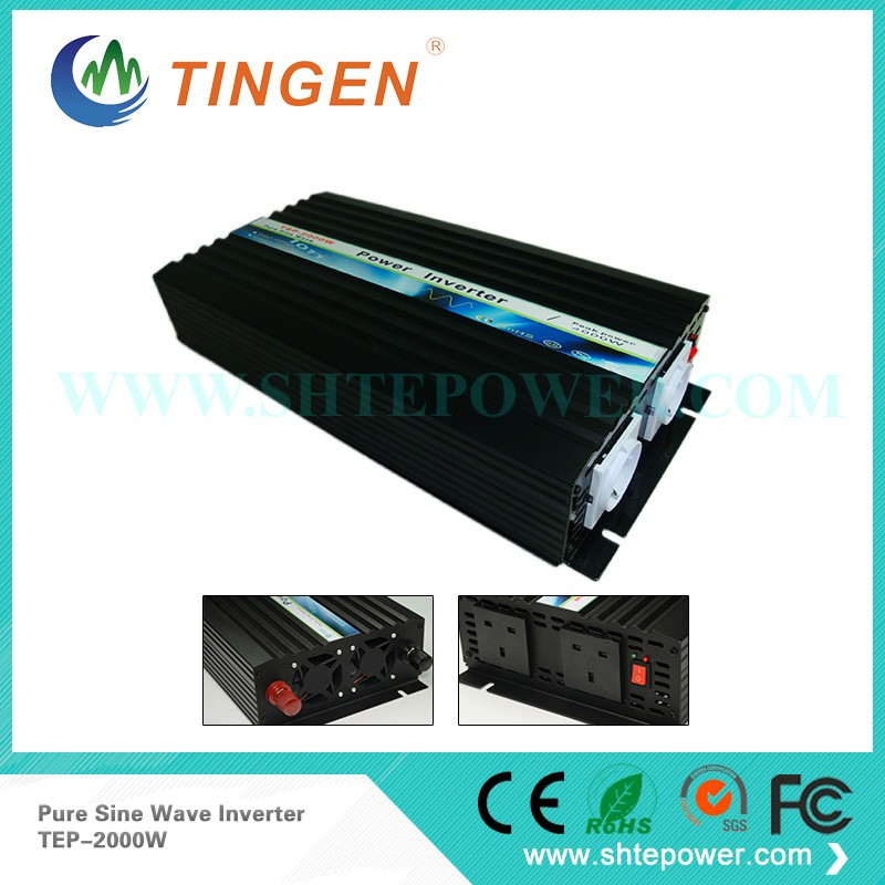 2000w Pure Sine Wave power inverter 2KW 12v 220v