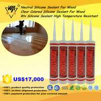 Clear Colored Rtv Silicone Sealant High Temperature Resistant Neutral Silicone Sealant For Wood