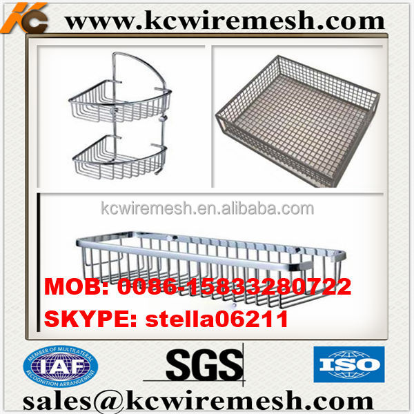 Factory!!!!!!!! KANGCHEN kitchen /Wardrobe side pull out stainless steel metal wire basket