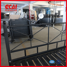 quality knocked down villa military metal bed frame