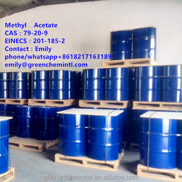 hot selling chemical solvent methyl acetate for paint industrial