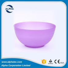 skilled production team made candy color shallow fruit ice plastic salad bowl