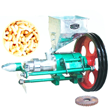 Small business use puffed rice machine/corn puffing machine/puffed corn extruder on sale