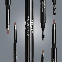 Makeup suppliers china waterproof eyebrow pencil dark brown