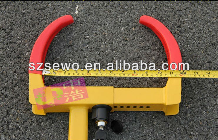 Car Wheel Clamp / Motorcycle Tyre Lock for UK.USA market